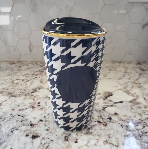 Starbucks Houndstooth Dot Collection Travel Mug